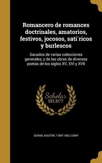 SPA-ROMANCERO DE ROMANCES DOCT