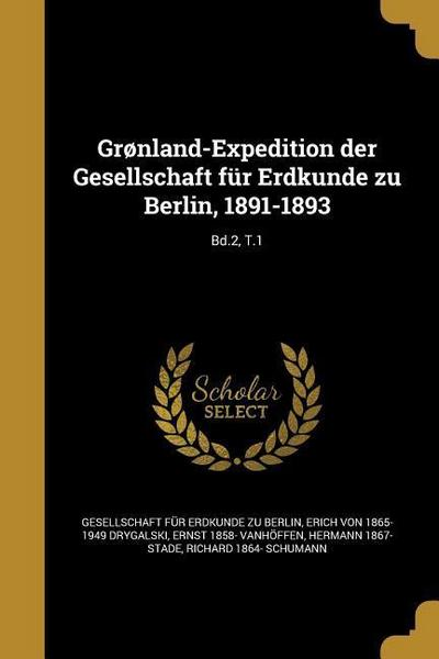 GER-GRONLAND-EXPEDITION DER GE