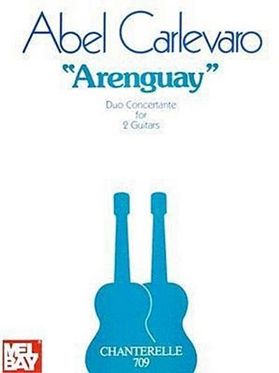 Abel Carlevaro: Arenguay Duo Concertante for 2 Guitars