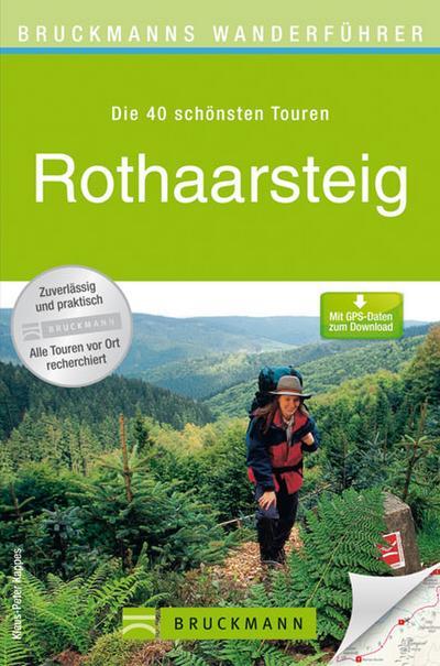 Bruckmanns Wanderführer Rothaarsteig   ; Bruckmanns Wanderführer ; Deutsch