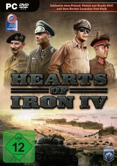 Hearts of Iron IV. Für Windows 7/8/10 (64-Bit)
