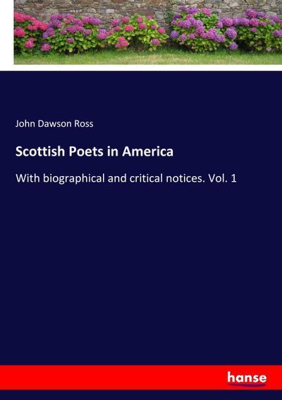 Scottish Poets in America
