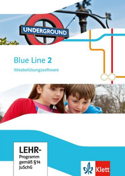 Blue Line. Ausgabe ab 2014 6. Klasse, Vokabelübungssoftware, CD-ROM