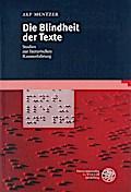 Die Blindheit der Texte: Studien zur literarischen Raumerfahrung (Anglistische Forschungen)