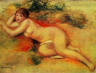 Pierre-Auguste Renoir - Akt - 100 Teile (Puzzle)