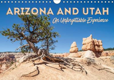 ARIZONA AND UTAH An Unforgettable Experience (Wall Calendar 2019 DIN A4 Landscape)