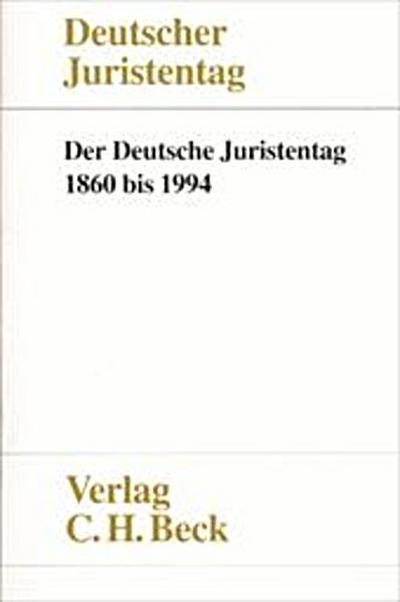 Der Deutsche Juristentag