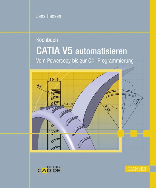 Kochbuch CATIA V5 automatisieren Jens Hansen