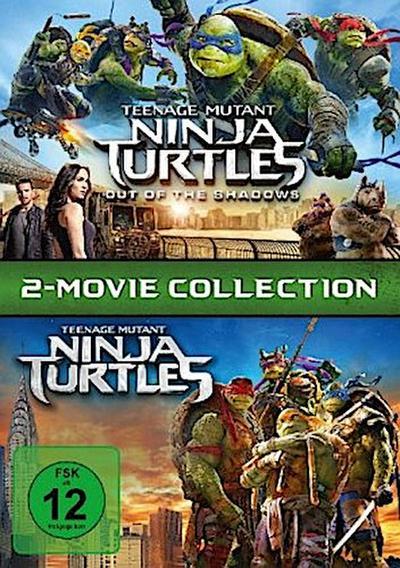 Teenage Mutant Ninja Turtles & Teenage Mutant Ninja Turtles 2 - Out of the Shadows DVD-Box