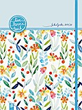 """Mein Lehrerplaner A4+ """"live - love - teach"""" - Edition Blumen - Lehrerkalender für das Schuljahr 2019/2020 - Schulplaner für Lehrerinnen und Lehrer"""