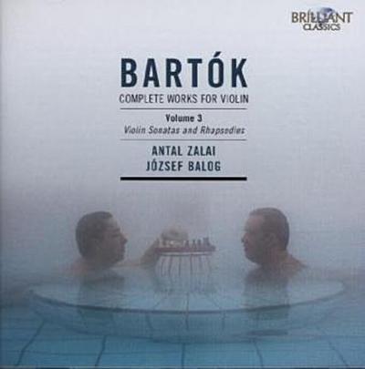 Bartok: Sämtliche Werke Für Violine Vol.3