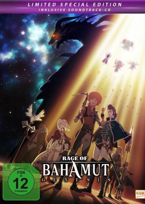 Rage of Bahamut: Genesis - Limited Edition. Gesamtedition inklusive Soundtr ...
