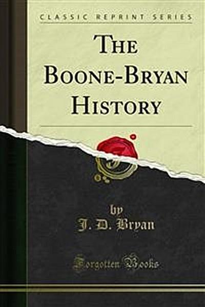 The Boone-Bryan History