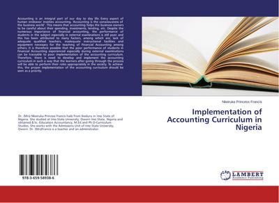 Implementation of Accounting Curriculum in Nigeria