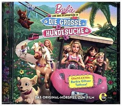 Barbie und ihre Schwestern in Die grosse Hundesuche, 1 Audio-CD