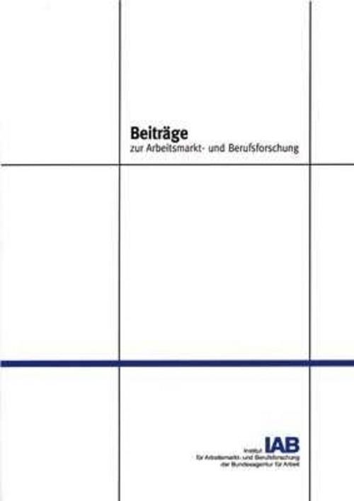 Das IAB/INFORGE-Model ~ Martin Distelkamp ~  9783763939633