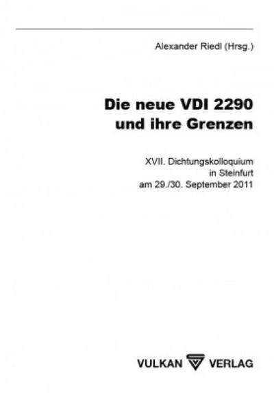 Die neue VDI 2290 und ihre Grenzen