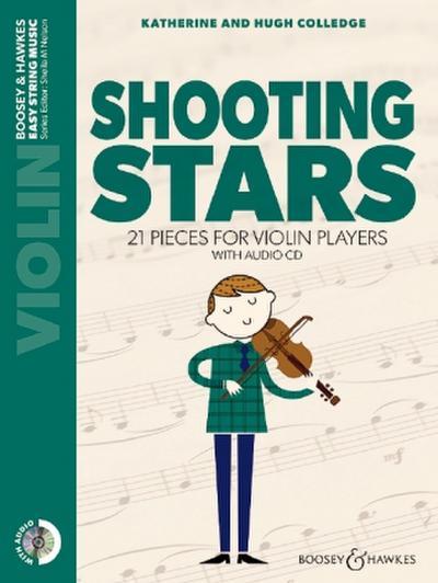 Shooting Stars. Violine. Ausgabe mit CD