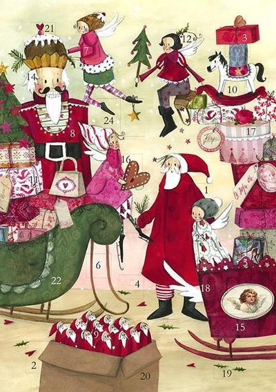 Adventskalender Weihnachtstreiben