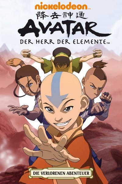 Avatar: Der Herr der Elemente 04. Die Verlorenen Abenteuer