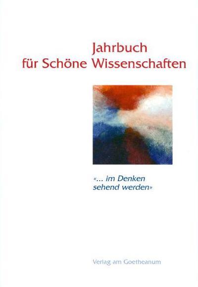 Jahrbuch für Schöne Wissenschaften. Bd.1