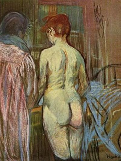 Henri de Toulouse-Lautrec - Zwei Mädchen - 200 Teile (Puzzle)