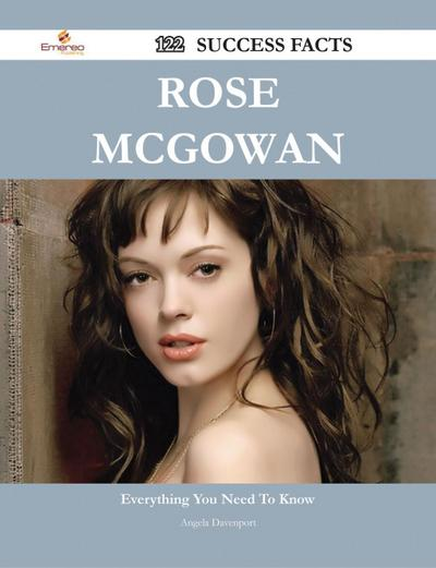 Rose McGowan 122 Success Facts - Everything you need to know about Rose McGowan