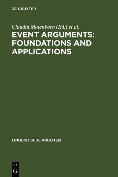 Event Arguments: Foundations and Applications