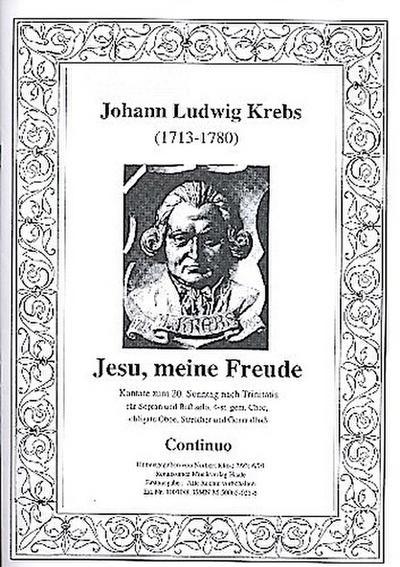Jesu meine Freude : Kantate fürSoli (SB), Chor und Orchester
