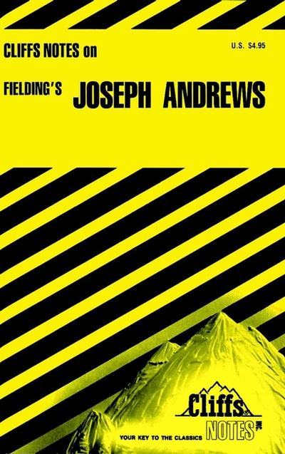 CliffsNotes on Fielding's Joseph Andrews