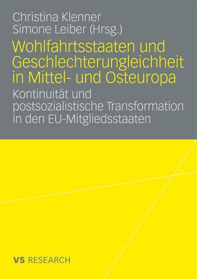 Wohlfahrtsstaaten und Geschlechterungleichheit in Mittel- und Osteuropa
