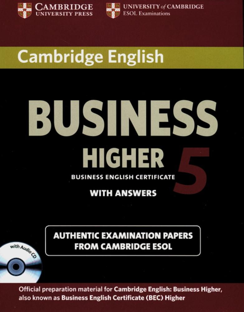 Cambridge BEC / Higher Student's Book Pack 5 (Student's Book with answers a ...