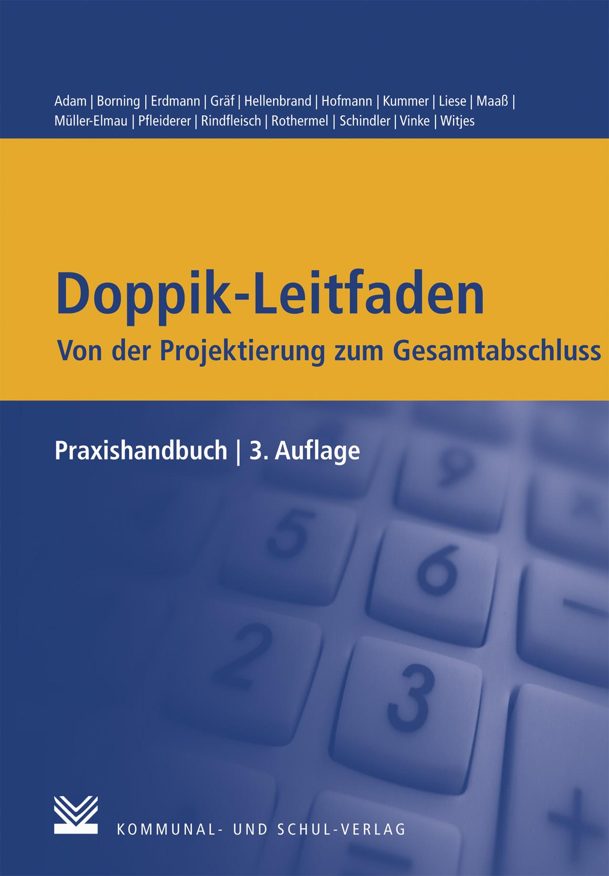 Berit Adam , Doppik-Leitfaden - Von der Projektierung zum Ge ... 9783829311687