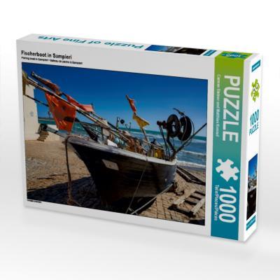 Fischerboot in Sampieri (Puzzle)