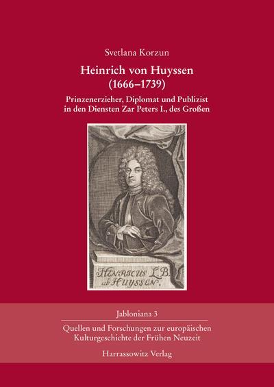 Heinrich von Huyssen (1666-1739)