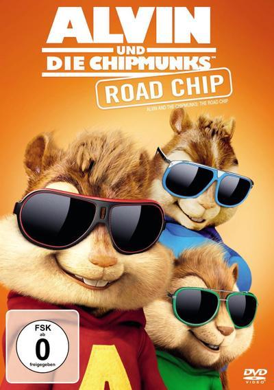 Alvin und die Chipmunks 4 - Road Chip, 1 DVD