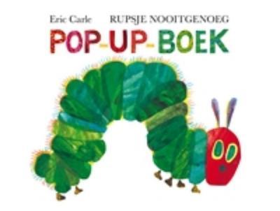 Rupsje Nooitgenoeg: pop-up-boek (Gottmer-prentenboek)