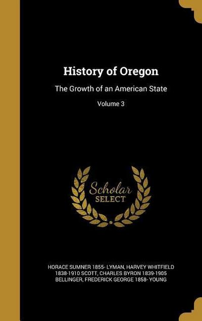 HIST OF OREGON