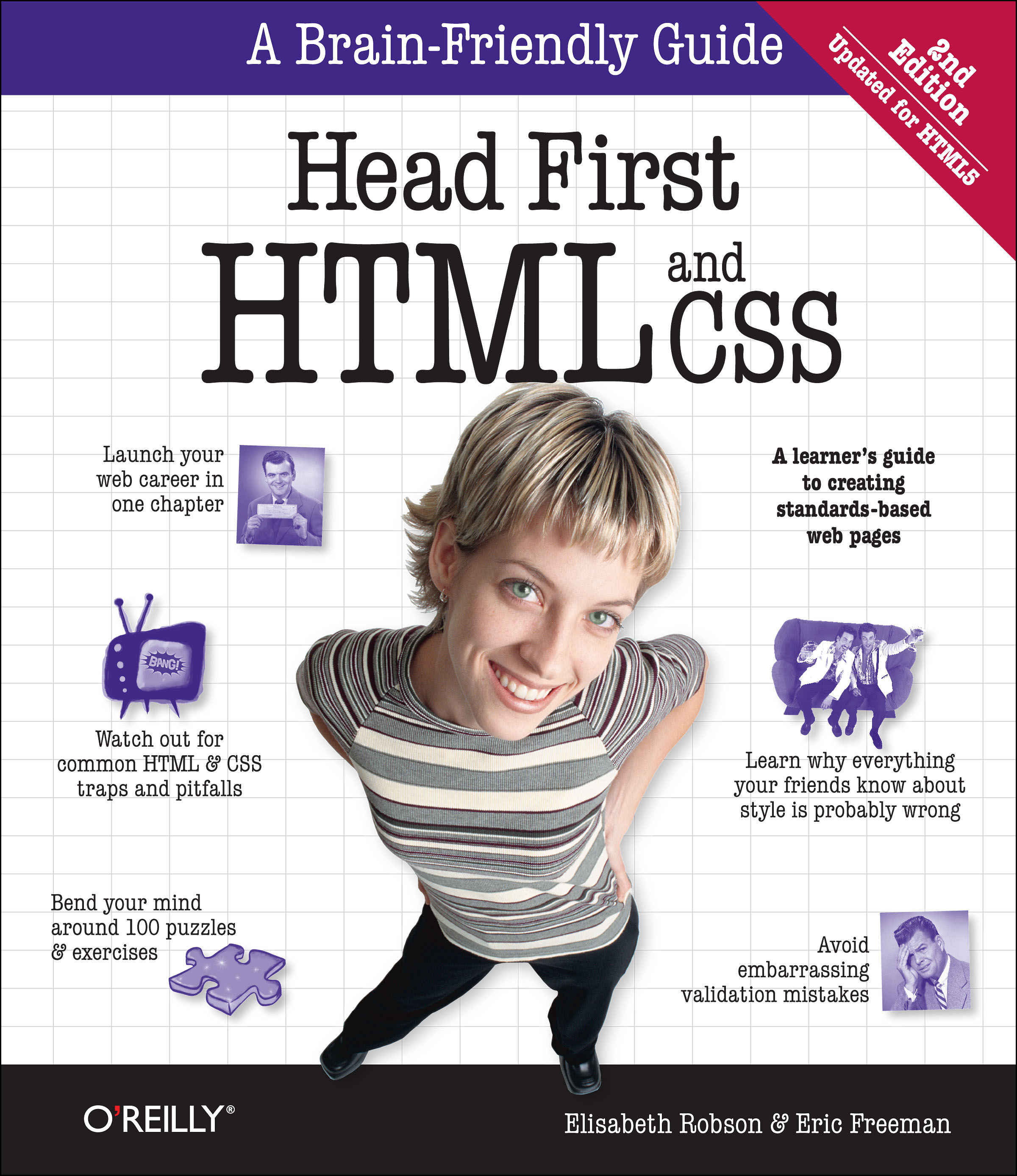 Head First HTML and CSS Elisabeth Robson