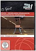 Sprung - Grundlagen: Sprunghocke, Sprunggrätsche, Sprungbücke, 1 DVD
