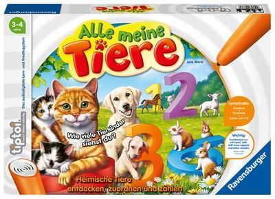tiptoi® Alle meine Tiere: Heimische Tiere entdecken, zuordnen und zählen
