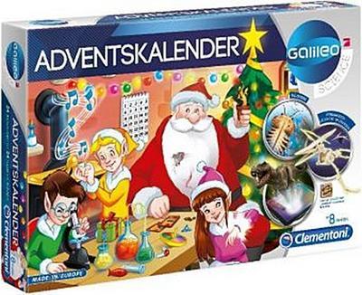 Clementoni 59080 Galileo Science Clementoni-59080-Galileo Adventskalender 2019, Mehrfarben - Clementoni - Spielzeug, Deutsch, , ,