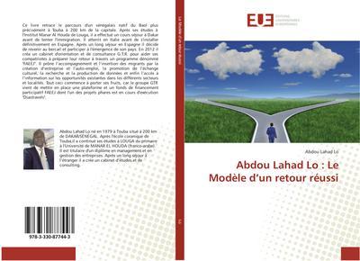 Abdou Lahad Lo : Le Mod¿ d¿un retour r¿si