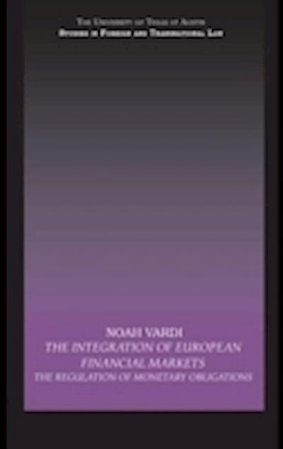 Integration of European Financial Markets