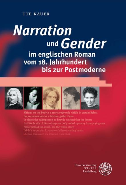'Narration' und 'Gender' im englischen Roman vom 18. Jahrhundert bis zur Po ...