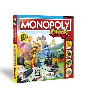 Hasbro Gaming A6984398 - Monopoly Junior Kinderspiel - Hasbro - Spielzeug, Deutsch, , Mein erstes Monopoly, Mein erstes Monopoly