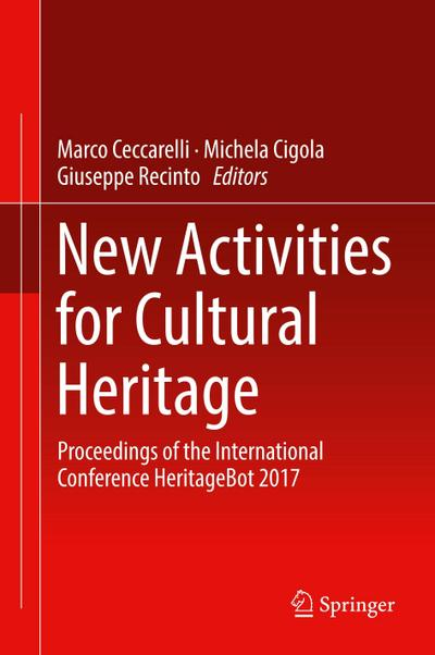 New Activities For Cultural Heritage