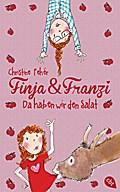 Finja & Franzi - Da haben wir den Salat; Band 2   ; Ill. v. Garanin, Melanie; Deutsch; it s/w Illustrationen, 85 schw.-w. Abb. -