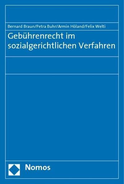 Gebührenrecht im sozialgerichtlichen Verfahren