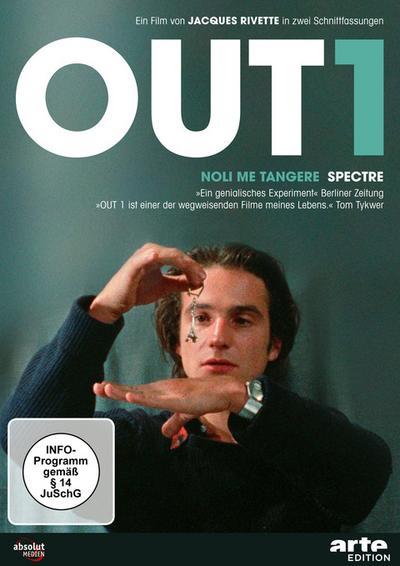 Out 1 - Noli me tangere/Spectre - Restaurierte Fassung (OmU) [5 DVDs]
